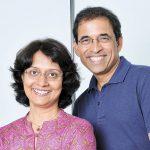 Anita and Harsha Bhogle